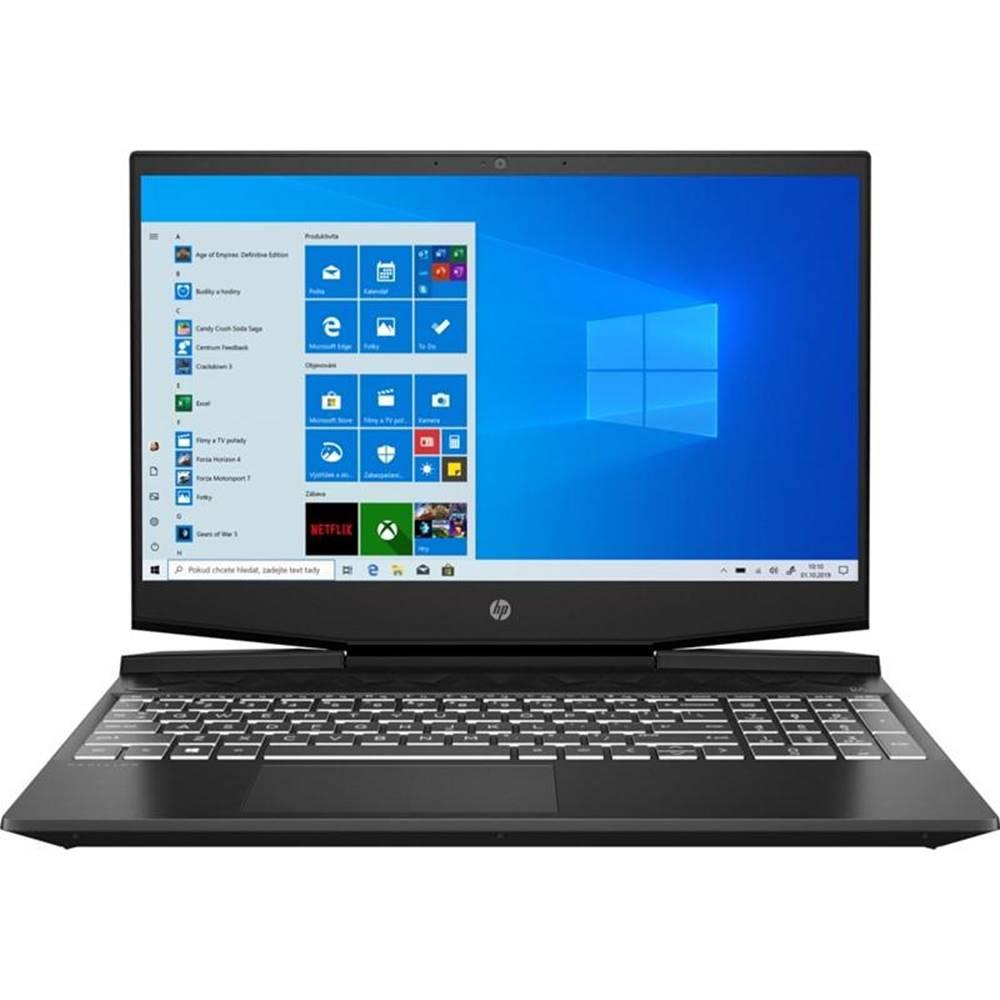 HP Notebook HP Pavilion Gaming 17-cd0102nc čierny/biely i5-9300H, 16GB