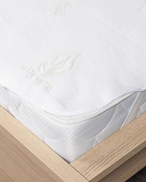 Biely chránič na matrac 4Home