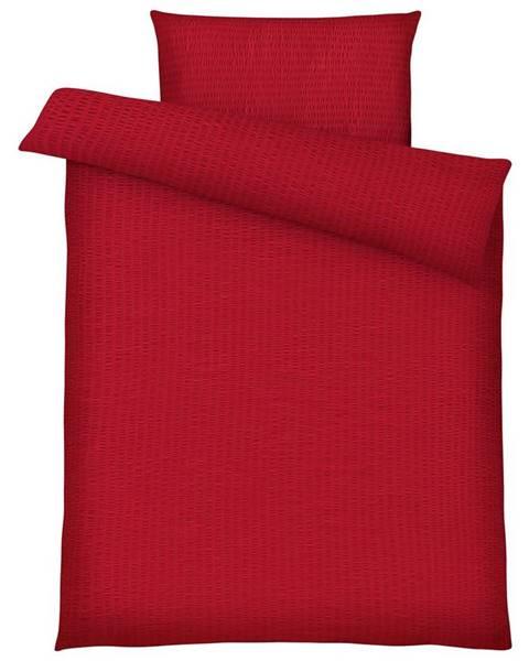 Červená bielizeň Möbelix