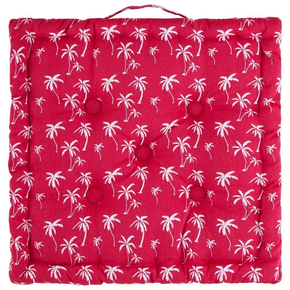 Möbelix Sedák Na Stoličku Lady Palms, 40/40cm, Ružová