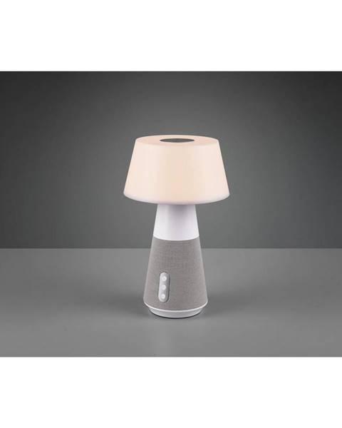 Biela stolová lampa Möbelix