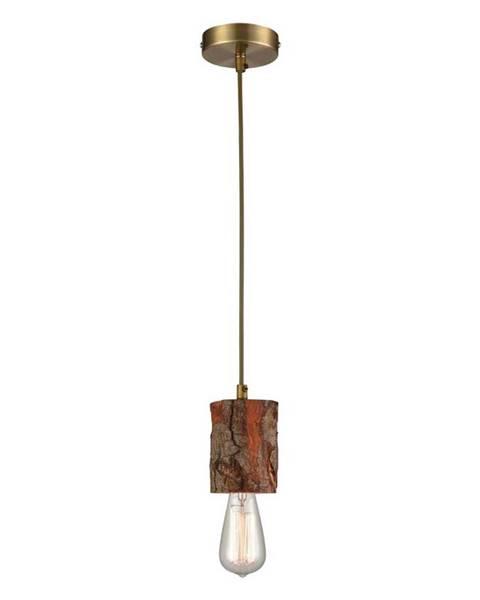 Hnedá lampa Möbelix