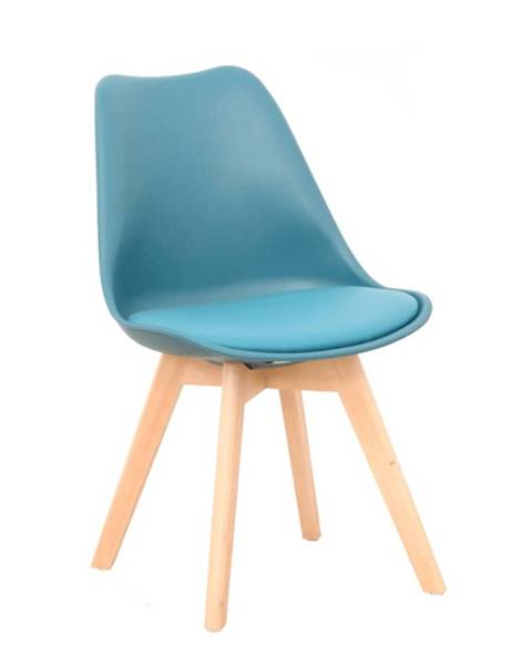Tyrkysová stolička Tempo Kondela