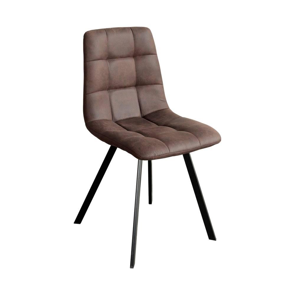 IDEA Nábytok Jedálenská stolička BERGEN hnedé mikrovlákno