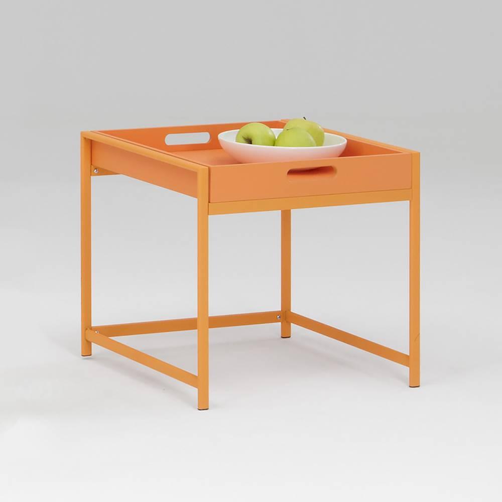 IDEA Nábytok Servírovací stolík ANNIKA oranžový