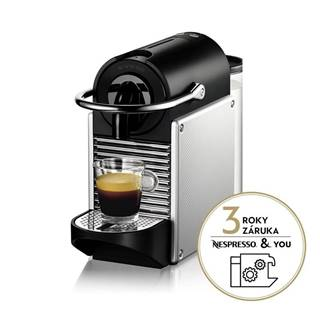 Espresso DeLonghi Nespresso EN124.S strieborn