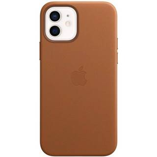 Kryt na mobil Apple Leather Case s MagSafe pre iPhone 12 mini -