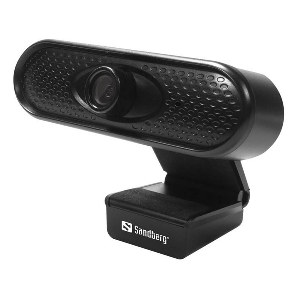 Sandberg Webkamera Sandberg Webcam 1080p čierna