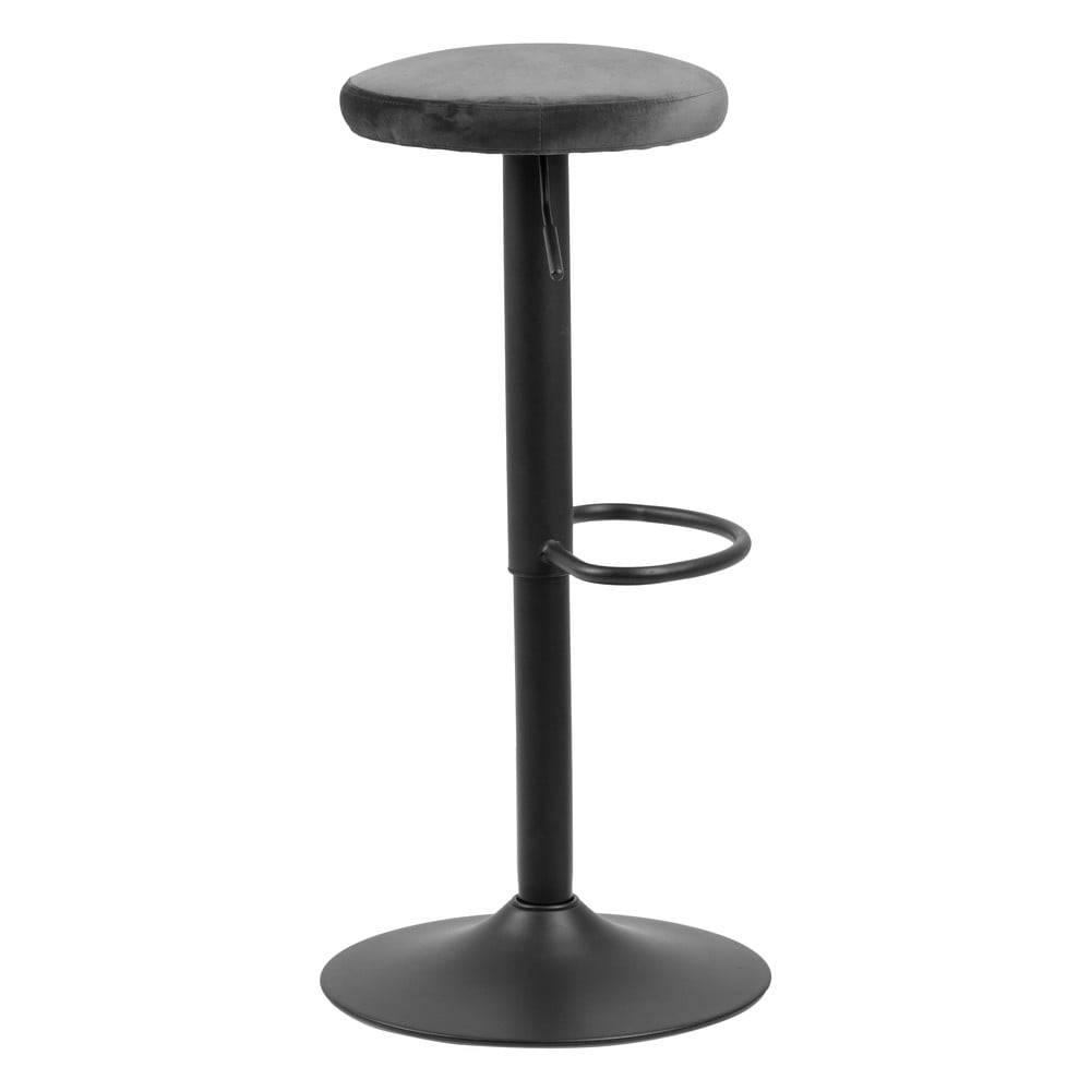 Actona Barová stolička so sivým polstrovaním Actona Finch
