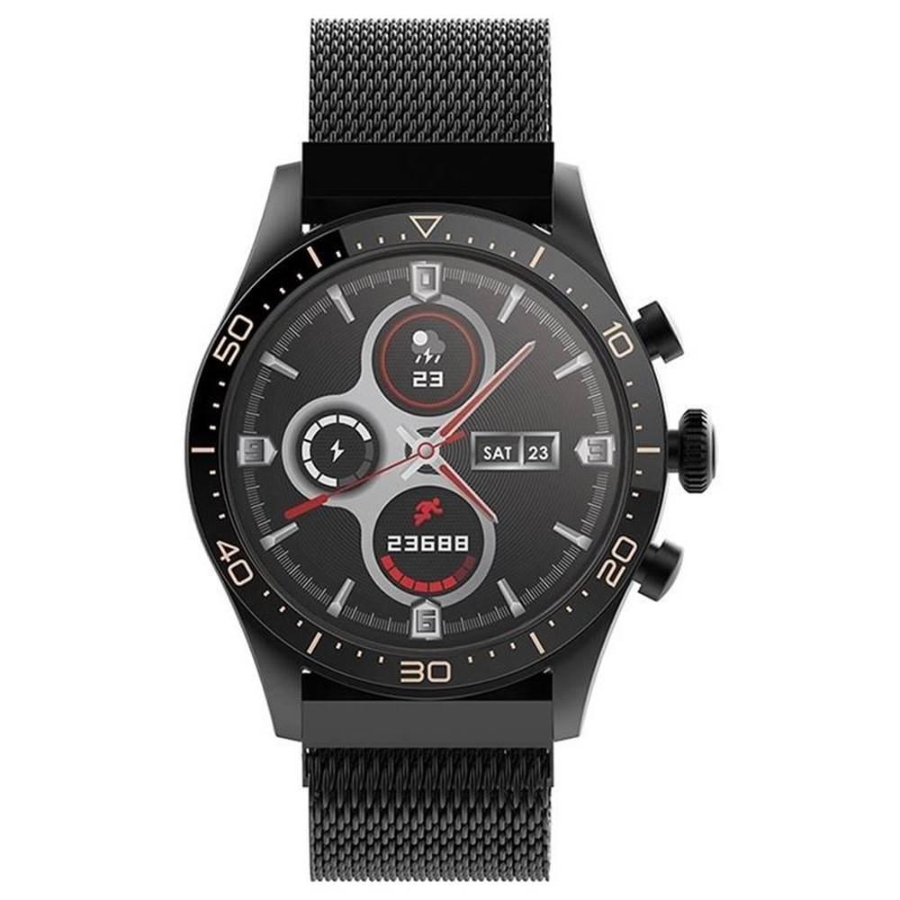 Forever Inteligentné hodinky Forever Icon AW-100 čierne