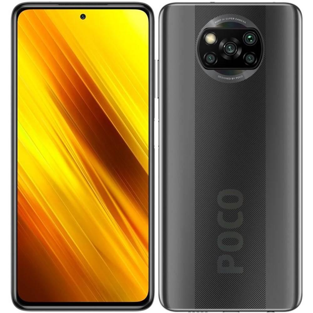 Xiaomi Mobilný telefón Poco X3 128 GB sivý
