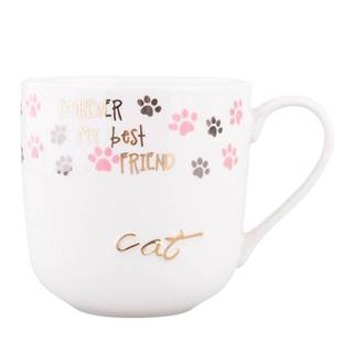 Altom Porcelánový hrnček Cat, 400 ml