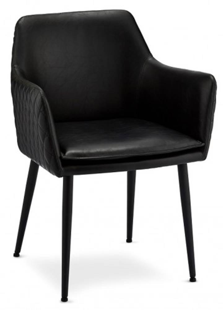 OKAY nábytok Jedálenská stolička Monda čierna