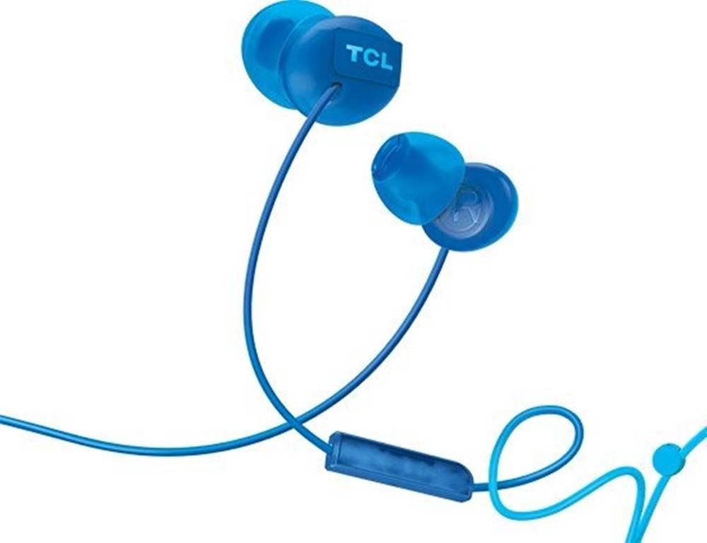 TCL TCL slúchadlá do uší, drôtové, mikrofón, modrá