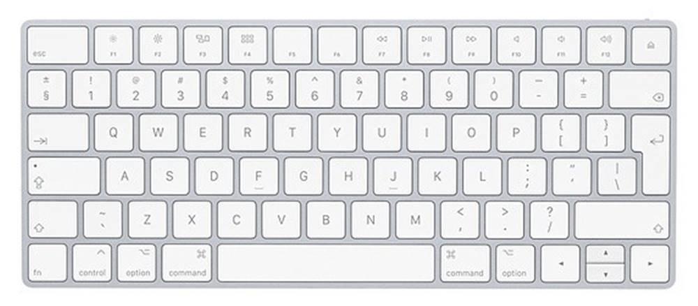 Apple Klávesnica Apple Magic, SK, biela