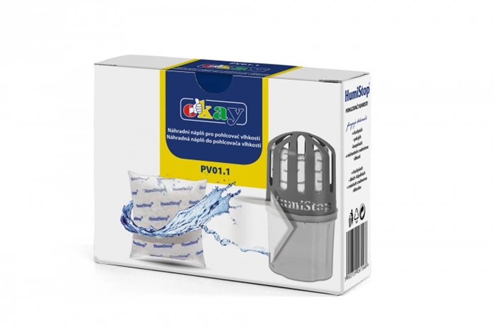 K&M Náhradné tableta pre pohlcovač vlhkosti Humistop K & M PV011