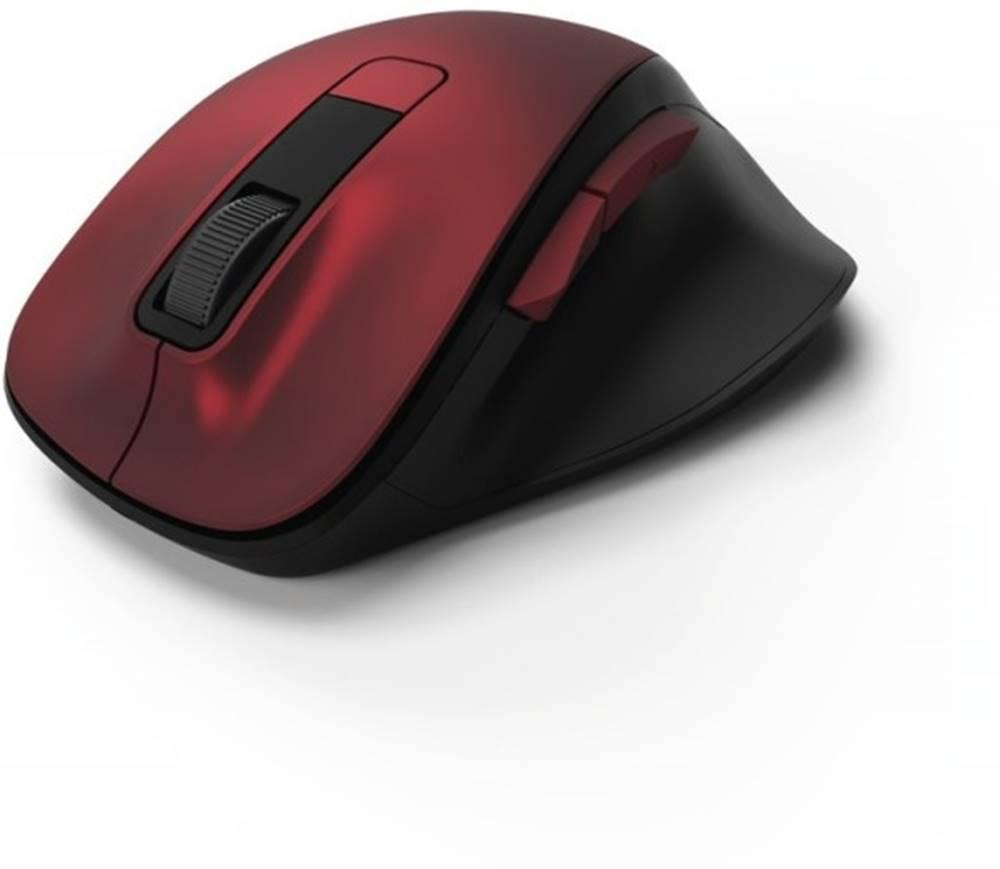 Hama Bezdrôtová myš Hama MW 500, tichá, 6 tlačidiel, červená