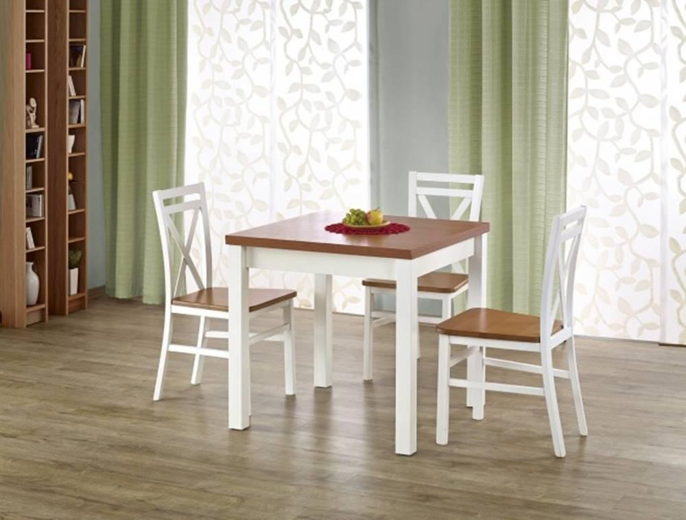 OKAY nábytok Jedálenský stôl Gracjan rozkladací 80-160x80 cm