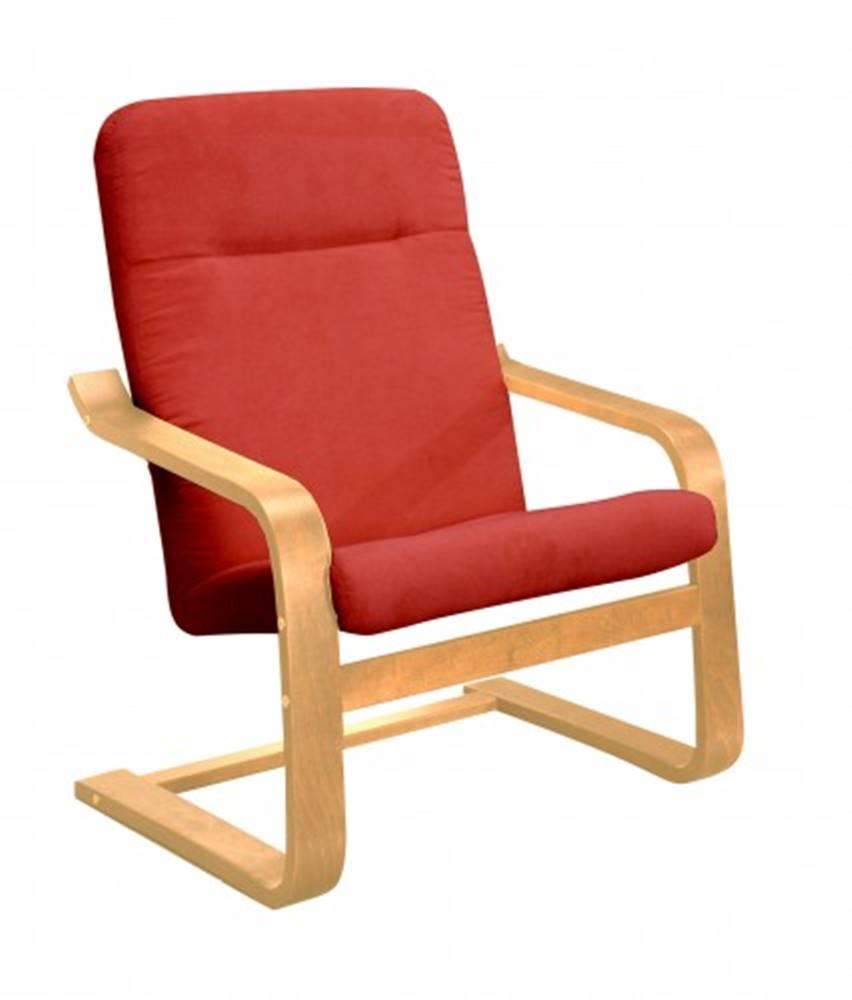 OKAY nábytok Moderné kreslo Sára červená