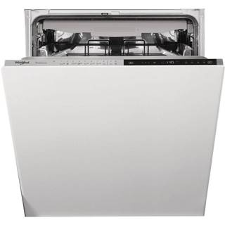 Umývačka riadu Whirlpool WIP 4T233 Pfeg nerez