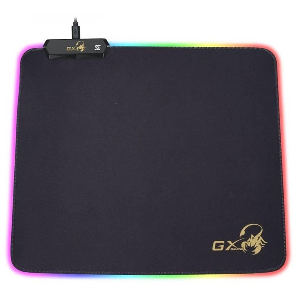 Genius Podložka pod myš  Genius GX-Pad 300S RGB, 32 x 27 cm čierna