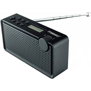 Rádioprijímač s DAB+ Maxxo PB01 čierny