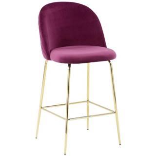Barová stolička Artdeco Bar Bordová