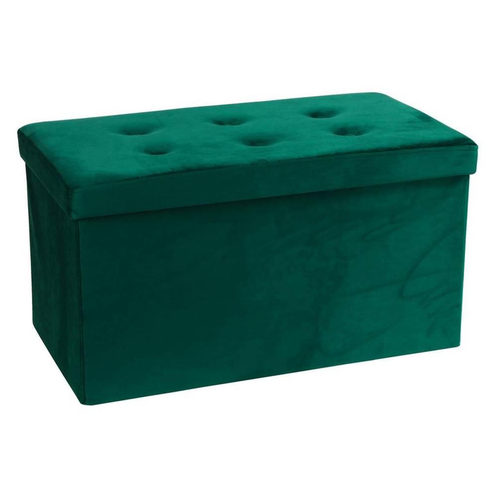 Möbelix sedacia Lavica Velvet Zelená