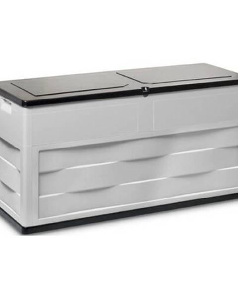 Sivý úložný box 4Home