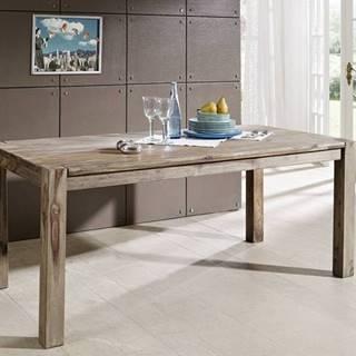 GREY WOOD Jedálenský stôl Klasik 160x90 cm, palisander