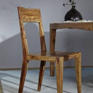 MODERNA Jedálenská stolička drevená, palisander