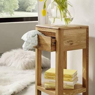 VIENNA Príručný stolík 30x60 cm, dub