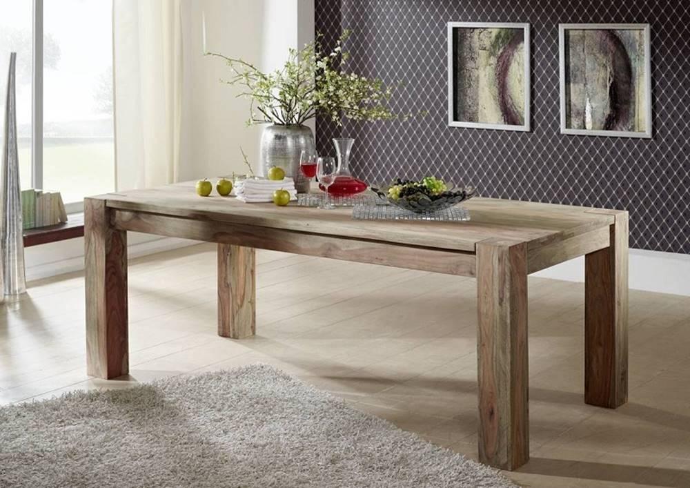 Bighome.sk GREY WOOD Jedálenský stôl Klasik 200x100 cm, palisander