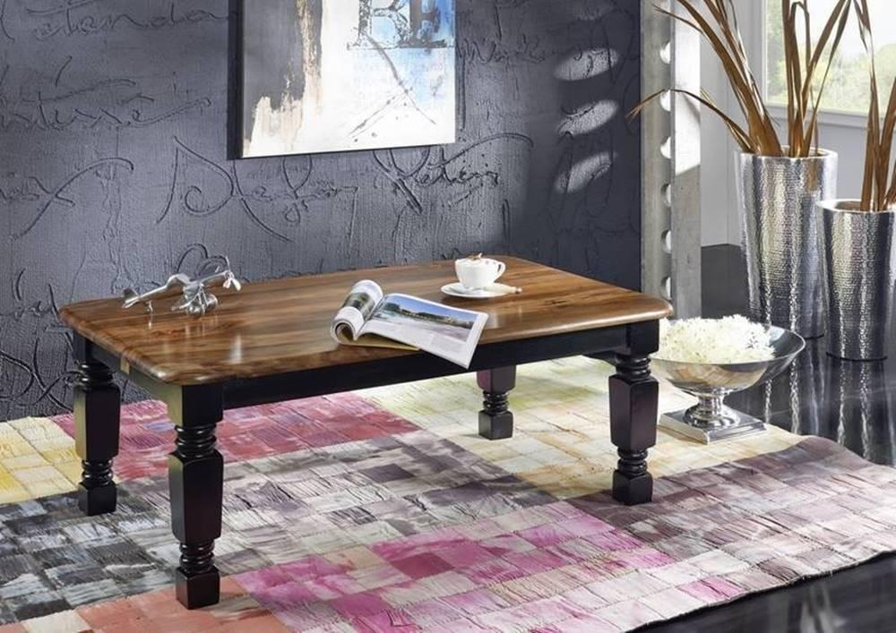 Bighome.sk KOLONIAL Konferenčný stolík 118x70 cm, palisander