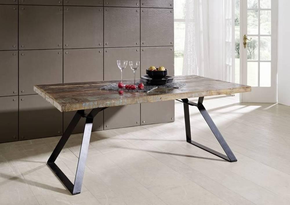 Bighome.sk INDUSTRY Jedálenský stôl 180x90 cm, staré drevo
