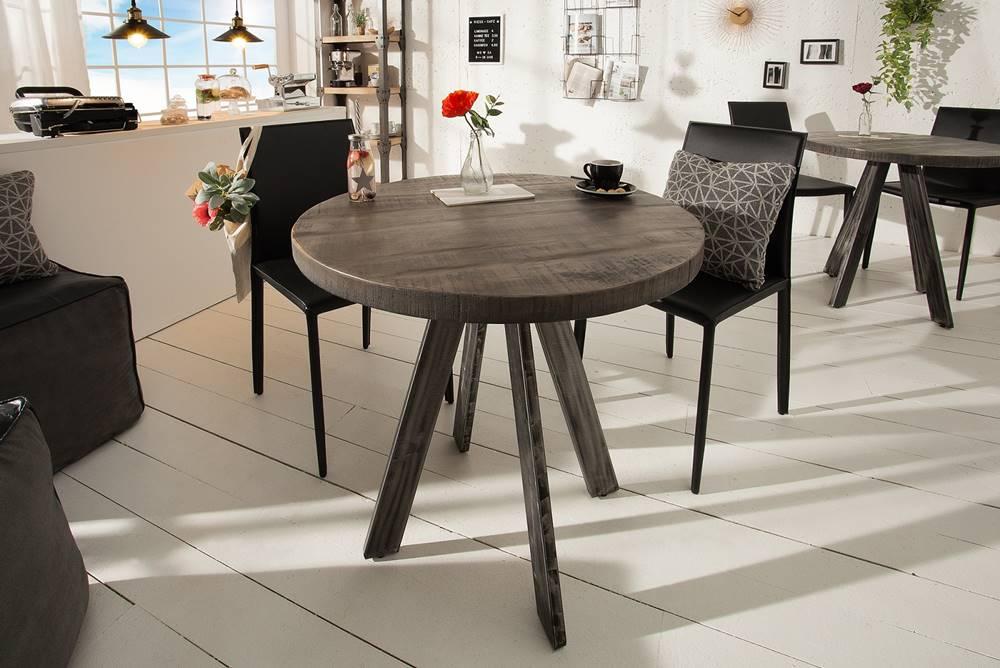 Bighome.sk Jedálenský stôl IRONIC 80 cm