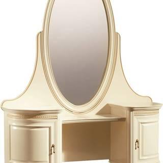 Verona V rustikálny toaletný stolík krém patyna