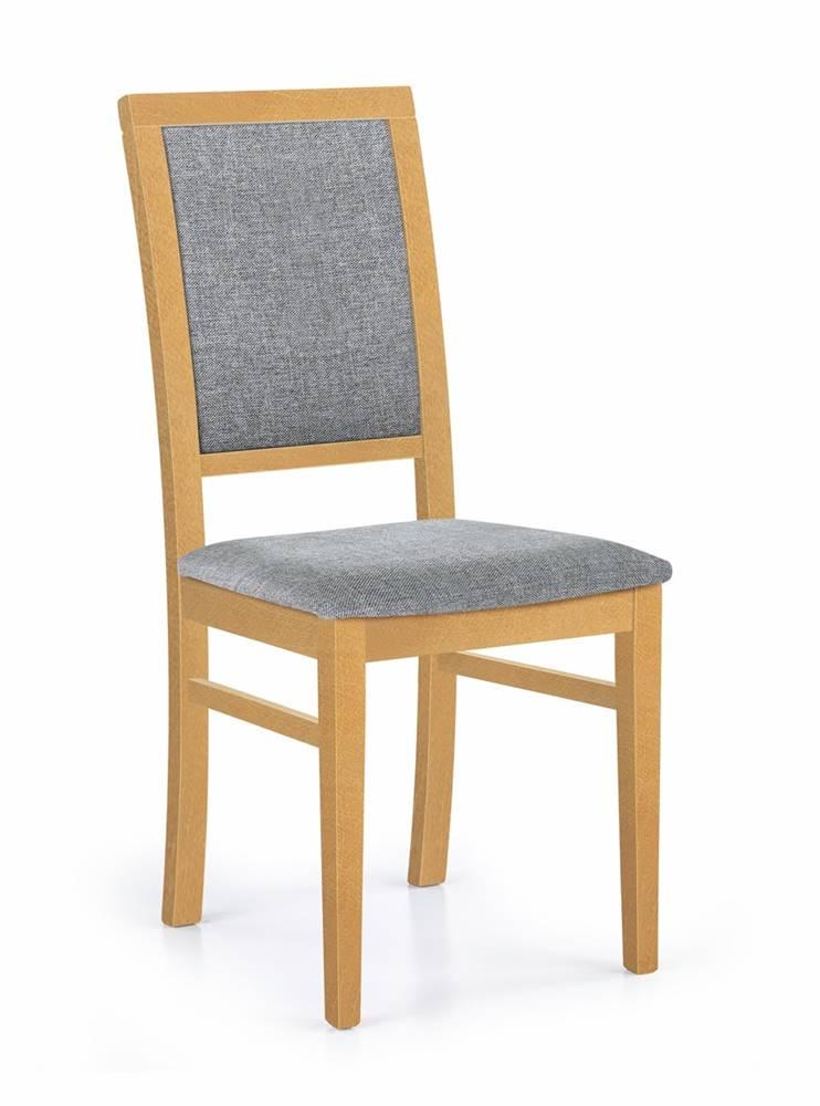 Halmar Sylwek 1 jedálenská stolička dub medový