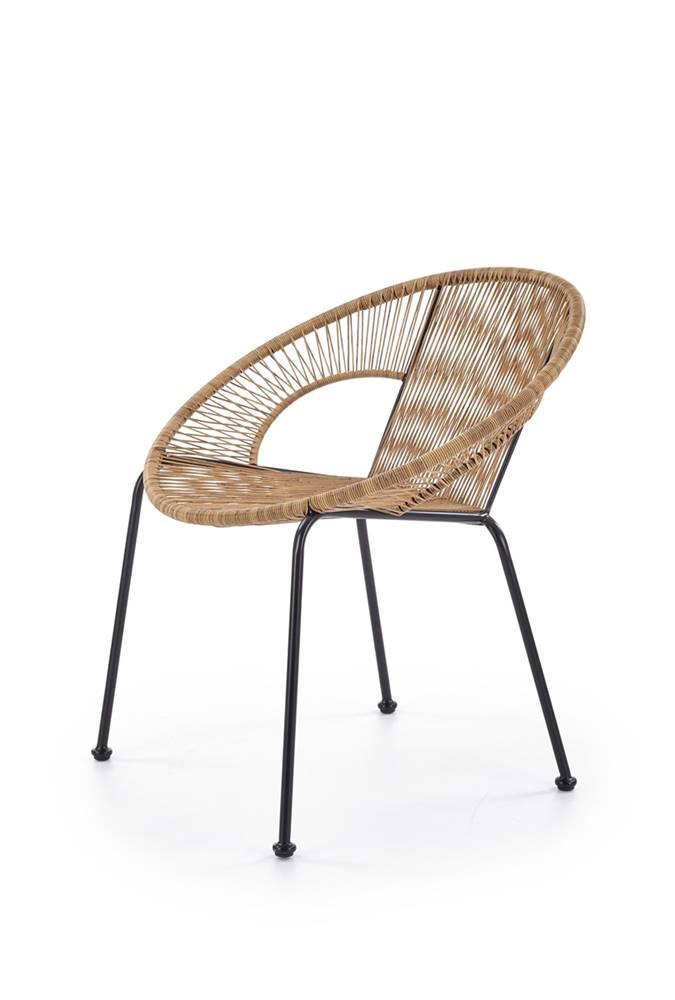 Halmar Bari záhradná stolička hnedá