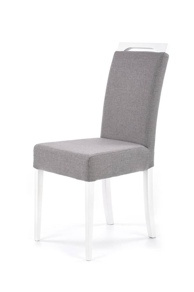 Halmar Clarion jedálenská stolička biela