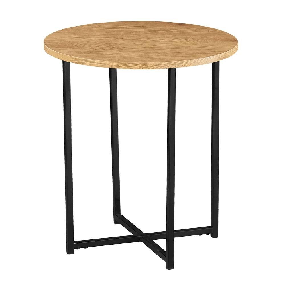 Tempo Kondela Imsar okrúhly príručný stolík dub