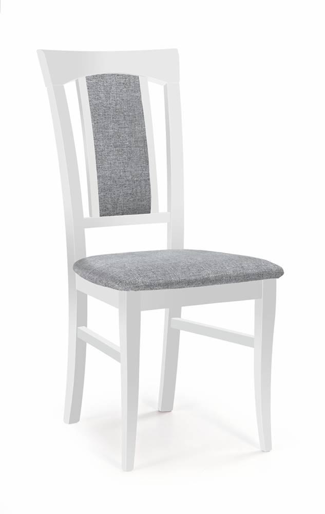 Halmar Konrad jedálenská stolička biela
