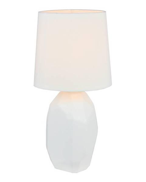 Biela stolová lampa Tempo Kondela
