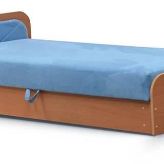 Pinerolo 80 L jednolôžková posteľ s úložným priestorom svetlomodrá