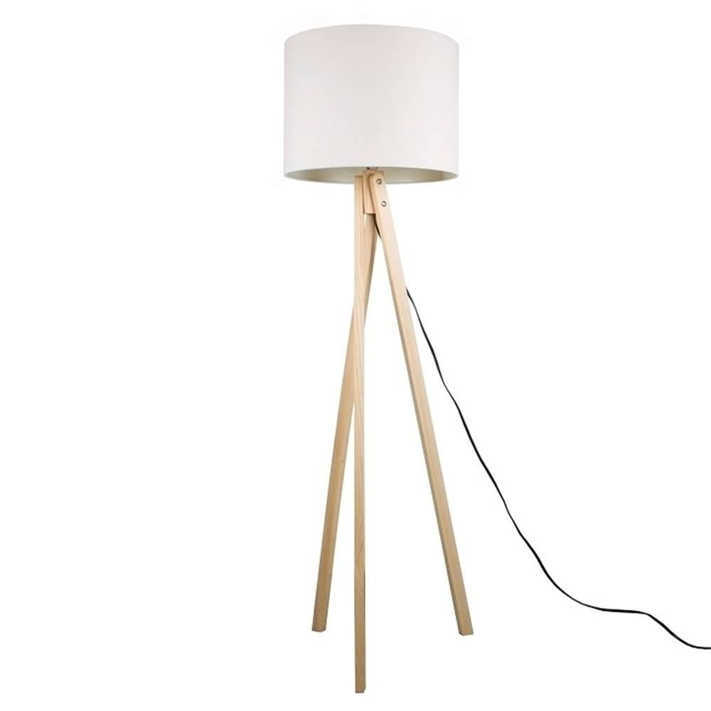 Tempo Kondela Lila Typ 6 stojacia lampa biela