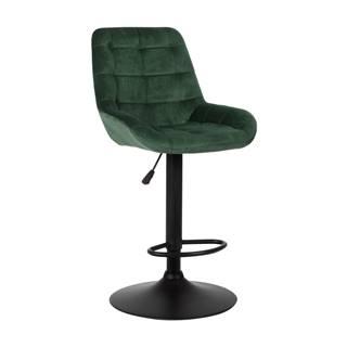 Chiro barová stolička tmavozelená