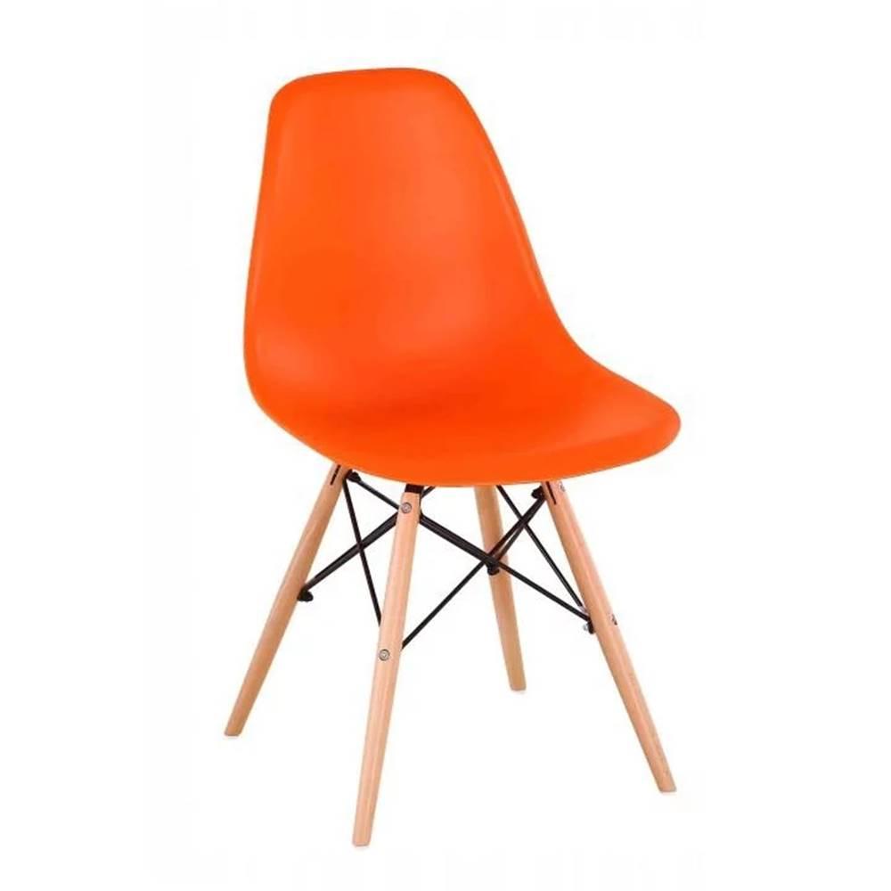 Tempo Kondela Cinkla 3 New jedálenská stolička oranžová