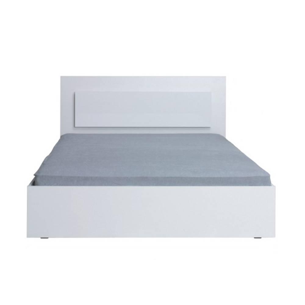 Tempo Kondela Asiena 160 manželská posteľ 160x200 cm biela