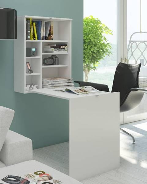Biely stôl MEBLOCROSS