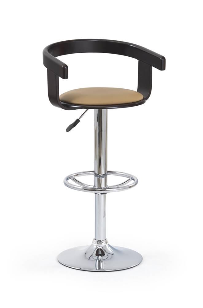 Halmar H-8 barová stolička wenge